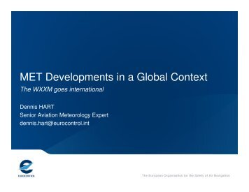 MET Developments in a Global Context - AiXM
