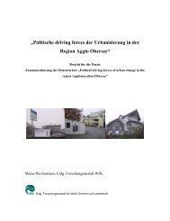 """""""Politische driving forces der Urbanisierung in der ... - vlp-aspan"""