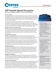 CEP Variable Speed Encryptors - SCADAhacker