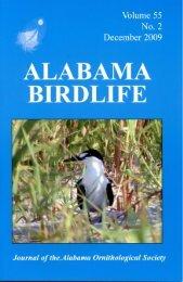 Vol. 55#2.indd - Alabama Ornithological Society