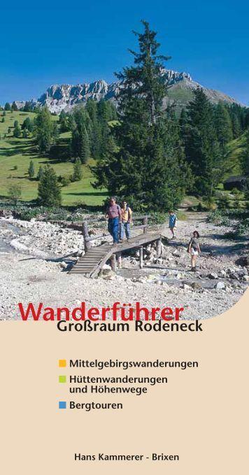 Wanderführer - Gitschberg Jochtal