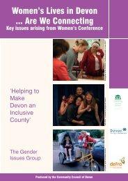 Womens lives in Devon - Executive Summary.pdf - Community ...