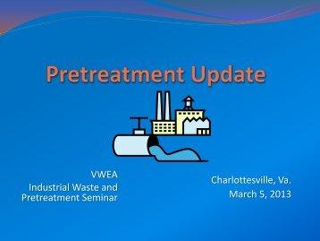 EPA Region II Pretreatment Update - John Lovell