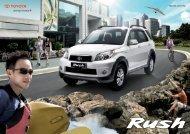 CRA003 Rush Brochure