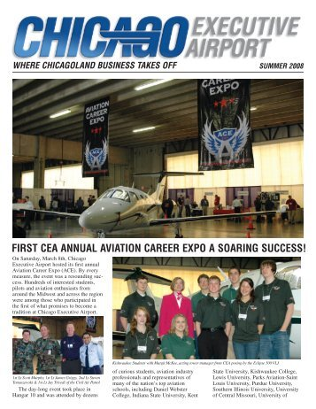 first cea annual aviation career expo a soaring success! - Chicago ...