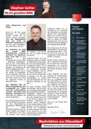 2Hz+Nachrichten aus Düsseldorf 05-2013 ... - Gatter, Stephan