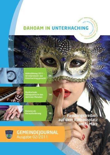 GJUnterhaching 02_2011.pdf (3,9 MB) - Gemeinde Unterhaching
