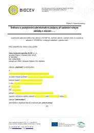 Příloha č. 5 Rámcové smlouvy - Biocev