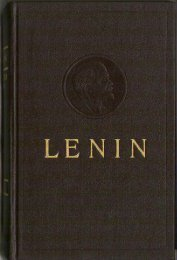 Collected Works of V. I. Lenin - Vol. 24 - From Marx to Mao