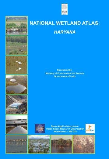 NATIONAL WETLAND ATLAS HARYANA - Ministry of Environment ...