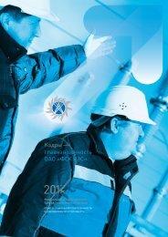 Социальный отчет 2012 г., 184 стр. (PDF   6 Mb) - ОАО