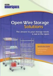 QuickWire Open Wire Storage - Stanley Healthcare Solutions