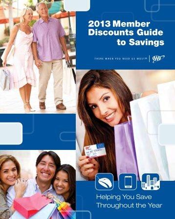 2013 Member Discounts Guide to Savings - AAA Arizona