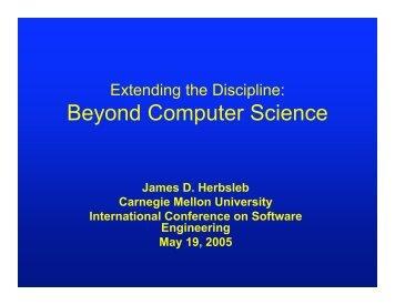 Slides - International Conference on Software Engineering
