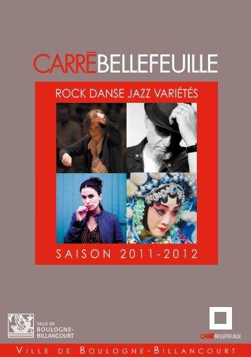 SAISON 2011-2012 ROCK DANSE JAZZ VARIÉTÉS - Foxoo