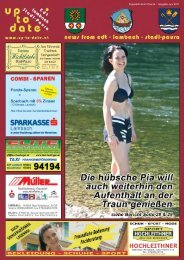 Zugestellt durch Post.at - Ausgabe Juni 2011 - Up-to-date