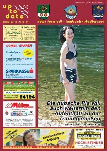 Zugestellt durch Post.at - Ausgabe Juni 2011 - Up-to-date