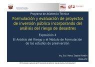 Exposición 4 El Análisis del Riesgo y el Módulo de Formulación de ...