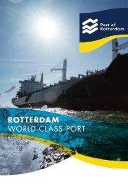 ROTTERDAM WORLD-CLASS PORT - Port of Rotterdam