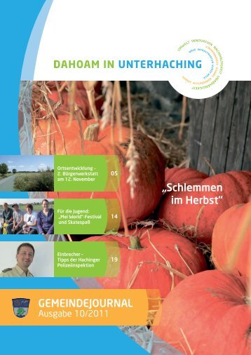 GJUnterhaching 10_2011.pdf (3,3 MB) - Gemeinde Unterhaching