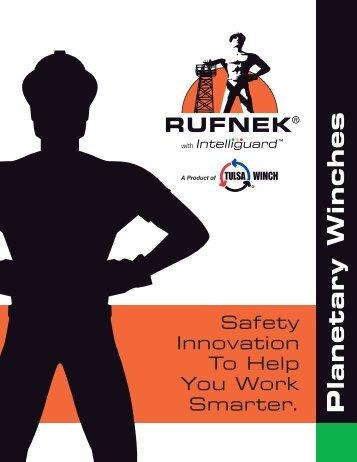 RUFNEK Planetary Winches Catalog - TWG