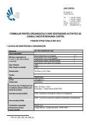 SC Teia Construct SRL Sibiu - ADR Centru