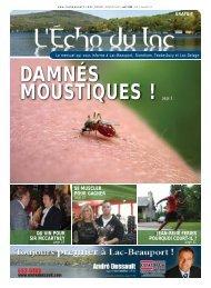 Le mensuel qui vous informe à Lac-Beauport - L'Écho du Lac