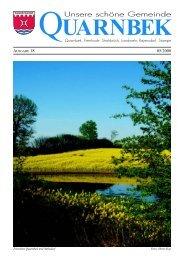 als PDF herunterladen - Unsere schöne Gemeinde Quarnbek
