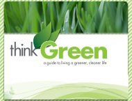 a guide to living a greener, cleaner life - City of Clearwater
