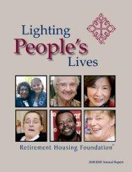 RHF Gift Annuities - Retirement Housing Foundation