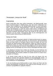 "Thesenpapier ""Campus der Musik"" - Probeethovenhalle.de"