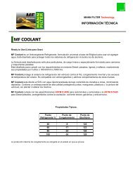 mf coolant - Meyer SACIF