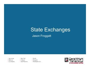 State Exchanges