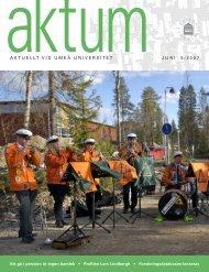 Aktum nr 5 - Umeå universitet