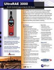 UltraRAE 3000 Data sheet - Shawcity Limited