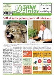 Vilkai kelia grėsmę jau ir ūkininkams - Dzūkų žinios
