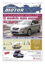 O modelo máis europeo da marca O modelo máis ... - Sprint Motor