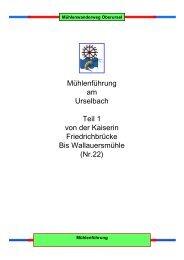 Mühlen von 01 bis 022 - Verein für Geschichte und Heimatkunde ...