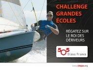 Plaquette Challenge Grandes Écoles 2010 - 5O5 Class France