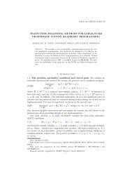 TRAJECTORY-FOLLOWING METHODS FOR LARGE ... - gerad