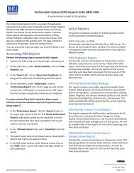 Quick Reference Sheet for UDS Reports for Grantee