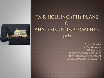 Fair Housing & Analysis of Impediments
