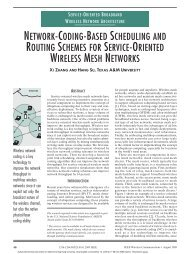 network-coding-based scheduling and routing schemes for service ...