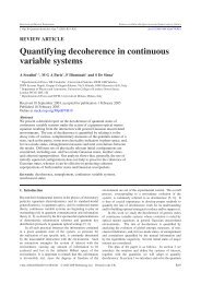 Quantifying decoherence in continuous variable systems - DMI