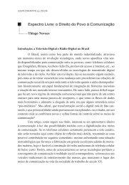 111012130512Espectro livre o direito do povo à comunicação - Thiago Novaes
