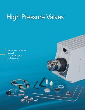 High Pressure Valves - Western Analytical