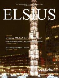 ELSIUS nr 11 - ELSA Sweden