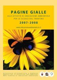 scarica le pagine gialle 2007/08 in formato pdf - Agenzia provinciale ...