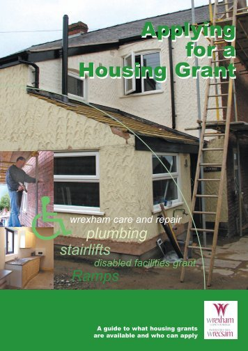 Applying for a Housing Grant - Wrexham County Borough Council
