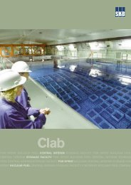 Clab – Central interim storage facility for spent nuclear fuel - SKB